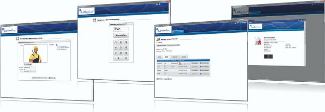 Software Zugangskontrollsystem Besucherverwaltung