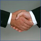 Handshake Handschlag Kooperation
