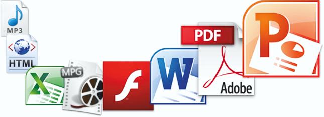 Upload Medienformate Dateiformate
