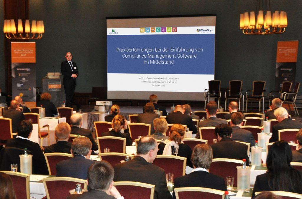 domeba Mitteldeutschen Compliance-Konferenz Chemnitz