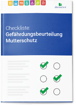 domeba Checkliste Gefährdungsbeurteilung Mutterschutz GefB MuSchG
