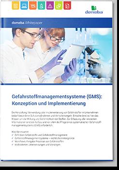 domeba Whitepaper Gefahrstoffmanagementsysteme (GMS)
