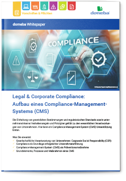 domeba Whitepaper Corporate Compliance