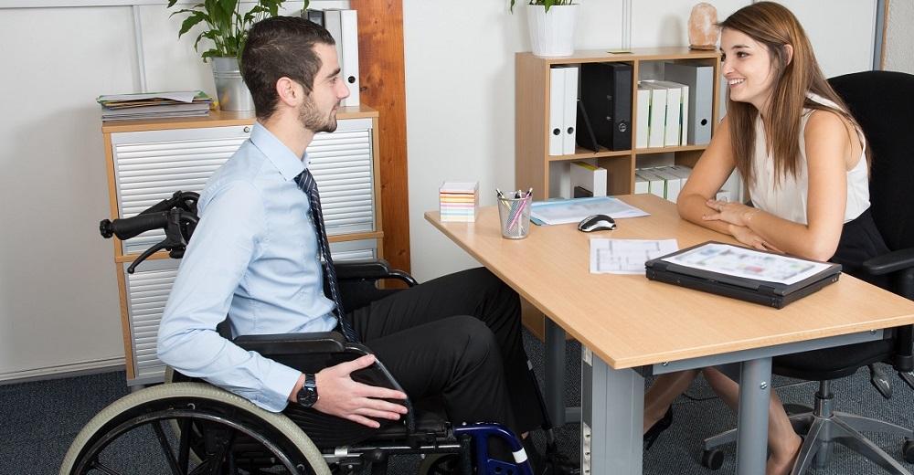 Arbeitsschutz: Mitarbeiter / Menschen mit Behinderung