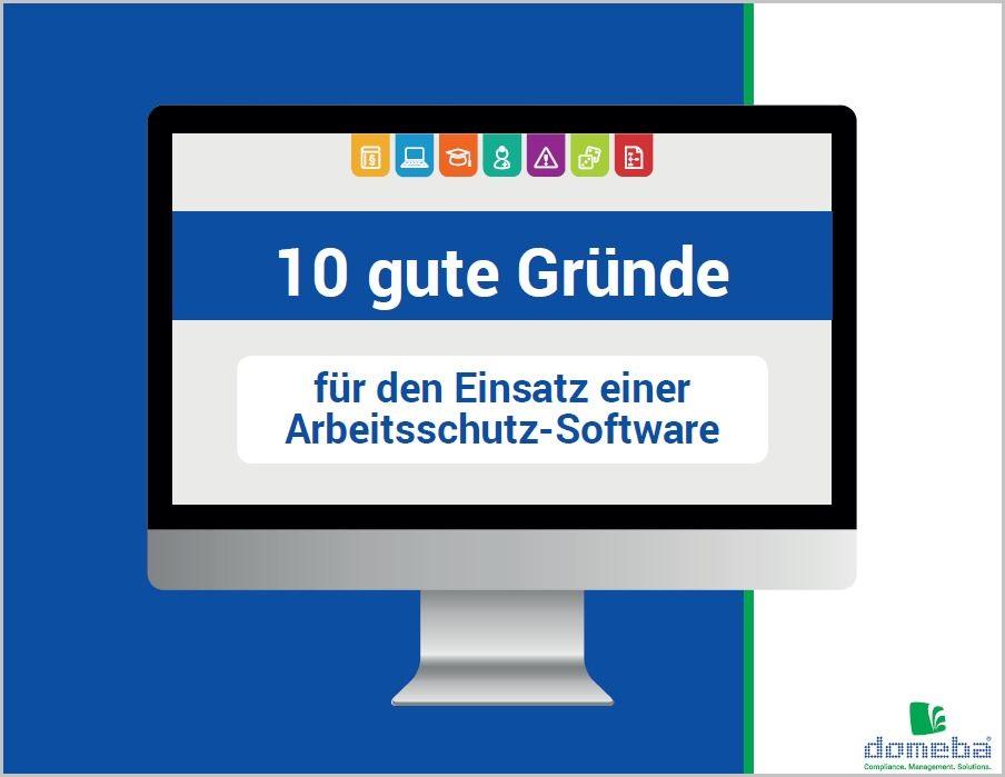 domeba E-Book Arbeitsschutz-Software
