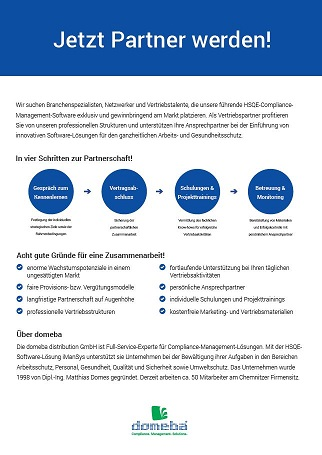 Informationsblatt Partnermanagement