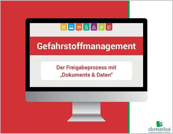 domeba E-Book Freigabeprozess Gefahrstoffmanagement