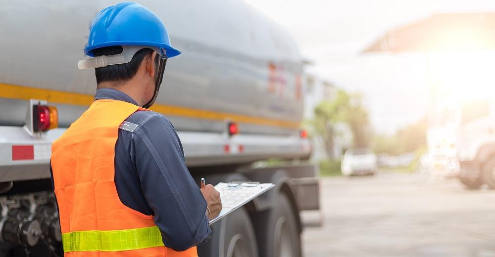 Fremdfirmenmanagement-Software Pförtner LKW Truck Kontrolle