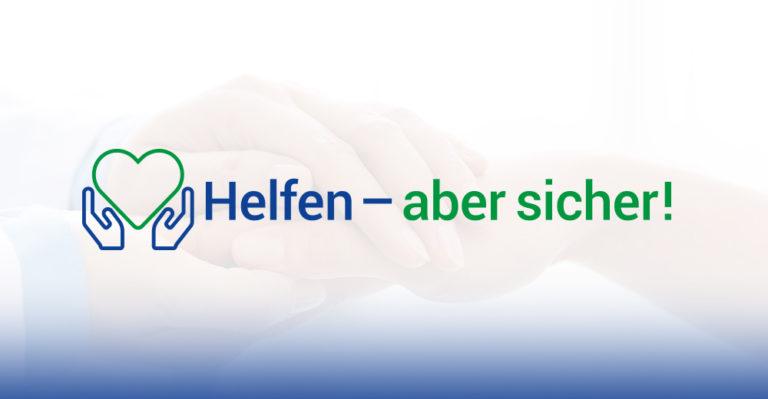 Unterstützungsplattform: Helfen – aber sicher! | Website: www.helfen-aber-sicher.de