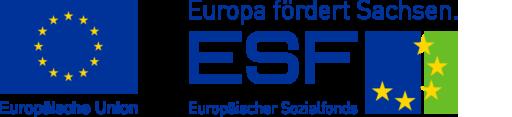 ESF-Logo (Europäischer Sozialfonds)