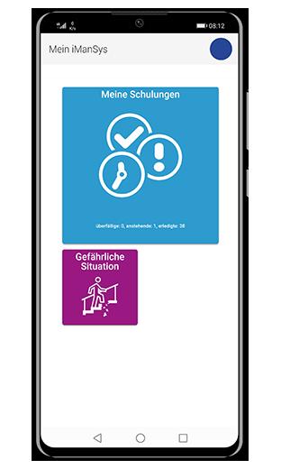 Dashboard iManSys-App
