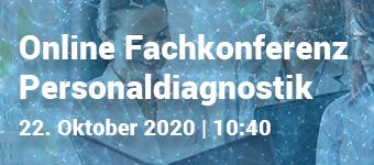 Online Fachkonferenz Personaldiagnostik