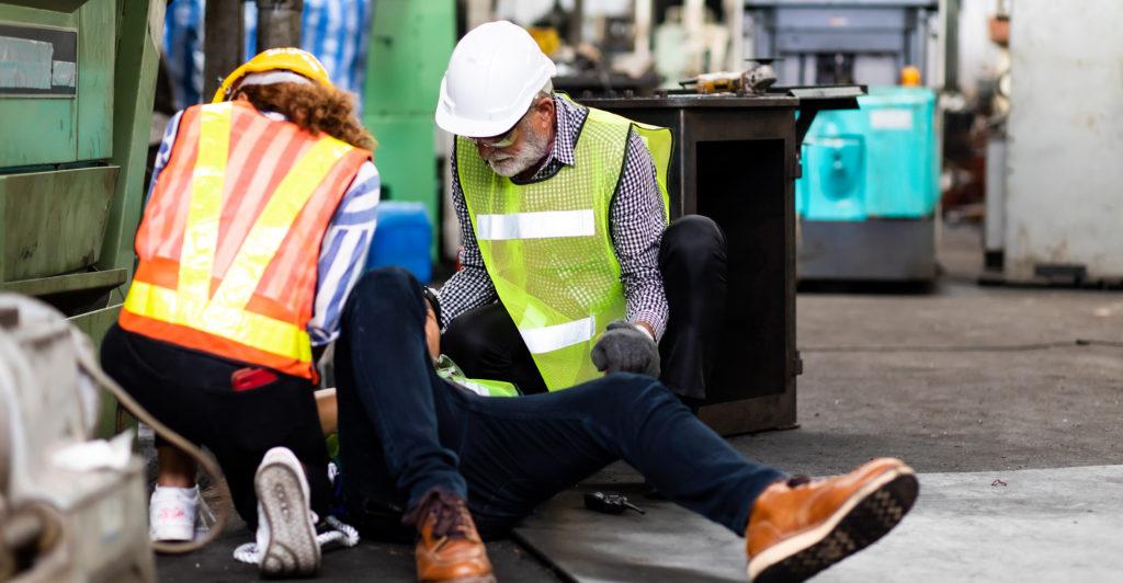 Digitales Verbandbuch: Was tun beim Arbeitsunfall?