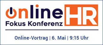 Online Fokus Konferenz HR Vortrag am 6.5.2021