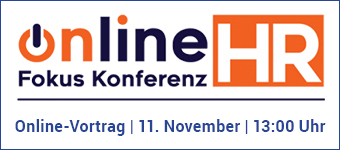 Online Fokus Konferenz HR Vortrag am 11.11.2021