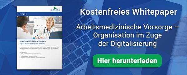 Whitepaper Download Arbeitsmedizinische Vorsorge