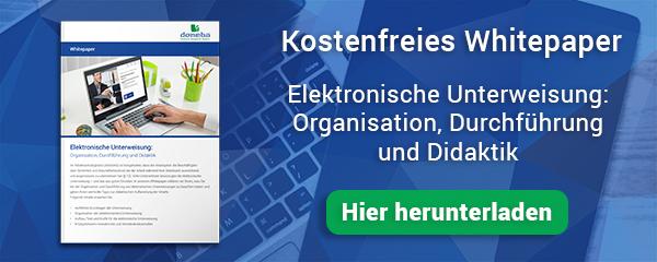 Whitepaper Elektronische Unterweisung