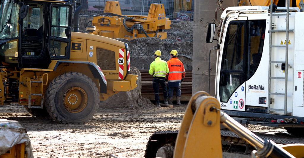 Arbeitsschutz auf Baustellen mittels Baustellenverordnung