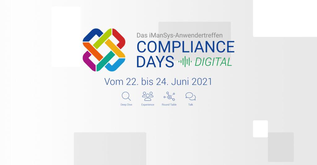 Presseinformation / Pressemitteilung: Compliance Days digital
