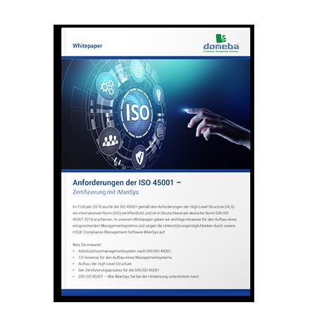 Whitepaper ISO-Zertifizierung 45001