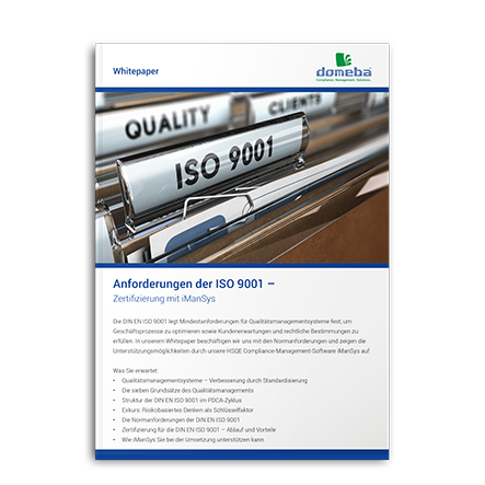 Whitepaper ISO-Zertifizierung 9001